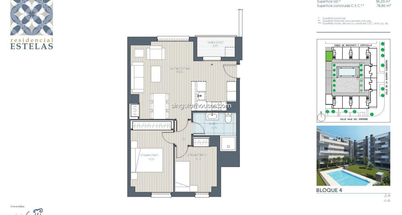 pisos singular houses